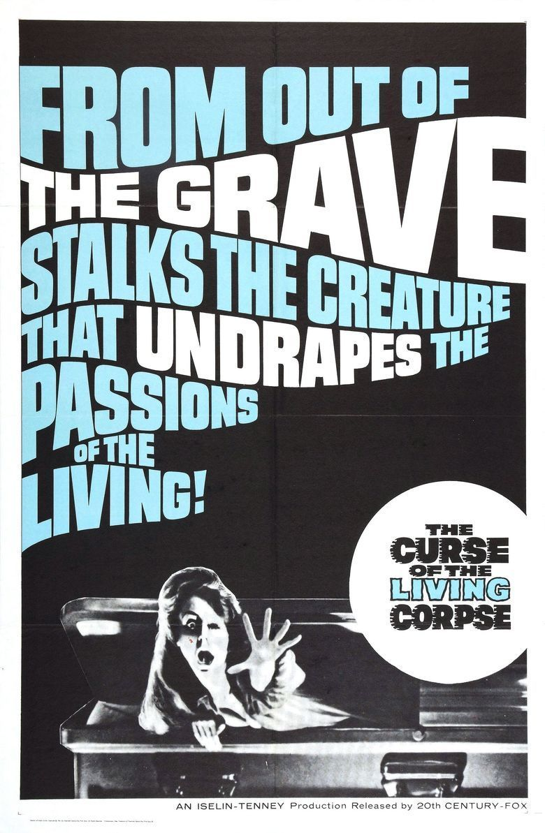 The Curse of the Living Corpse movie poster