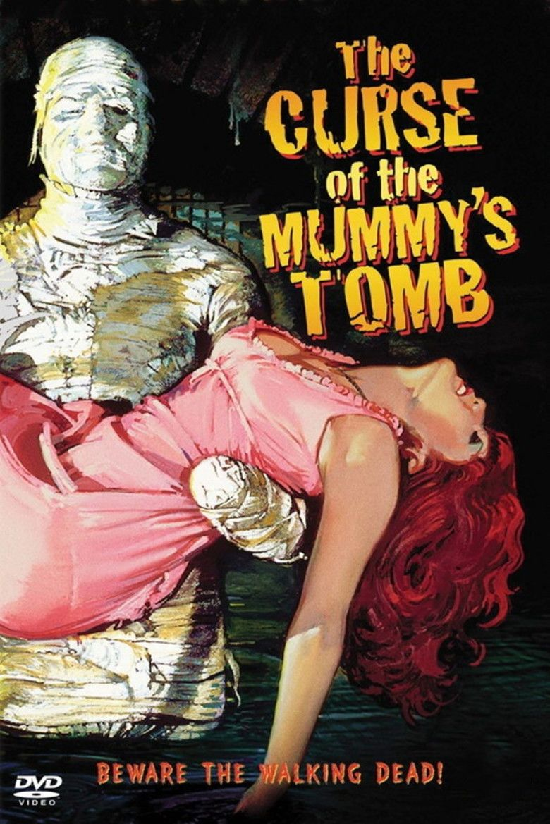 The Curse of the Mummys Tomb movie poster