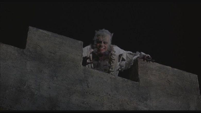 The Curse of the Werewolf movie scenes