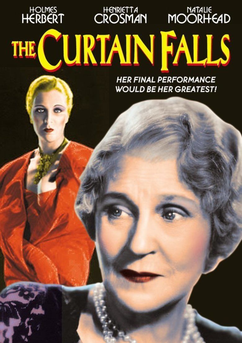The Curtain Falls (1934 film) movie poster