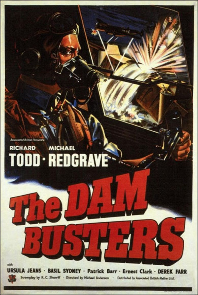 The Dam Busters (film) movie poster