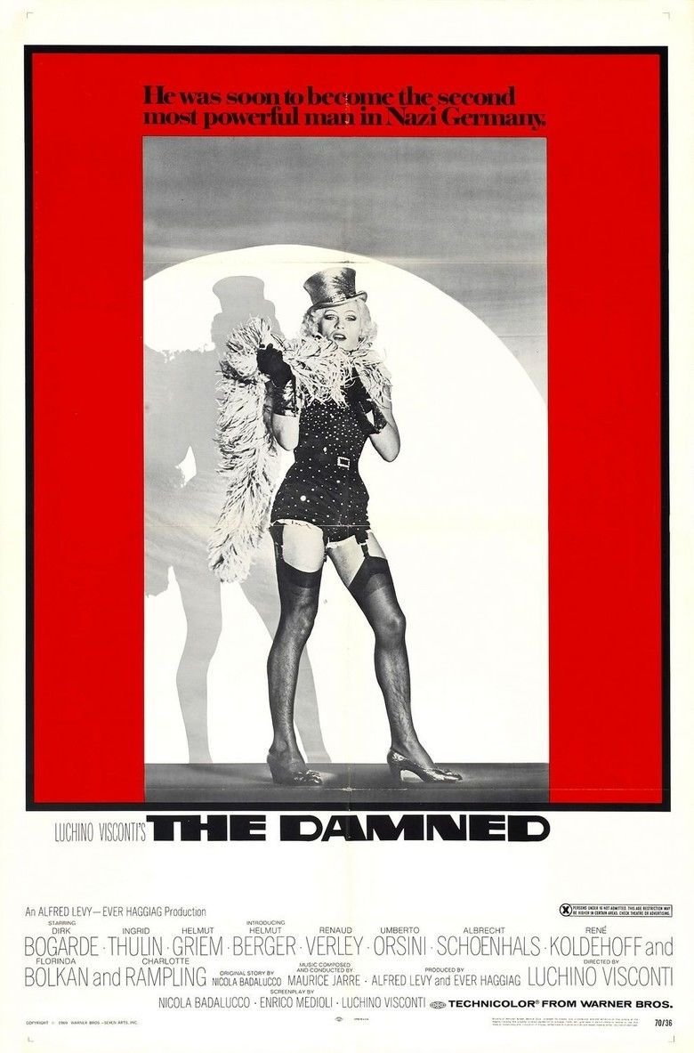 The Damned (1969 film) movie poster