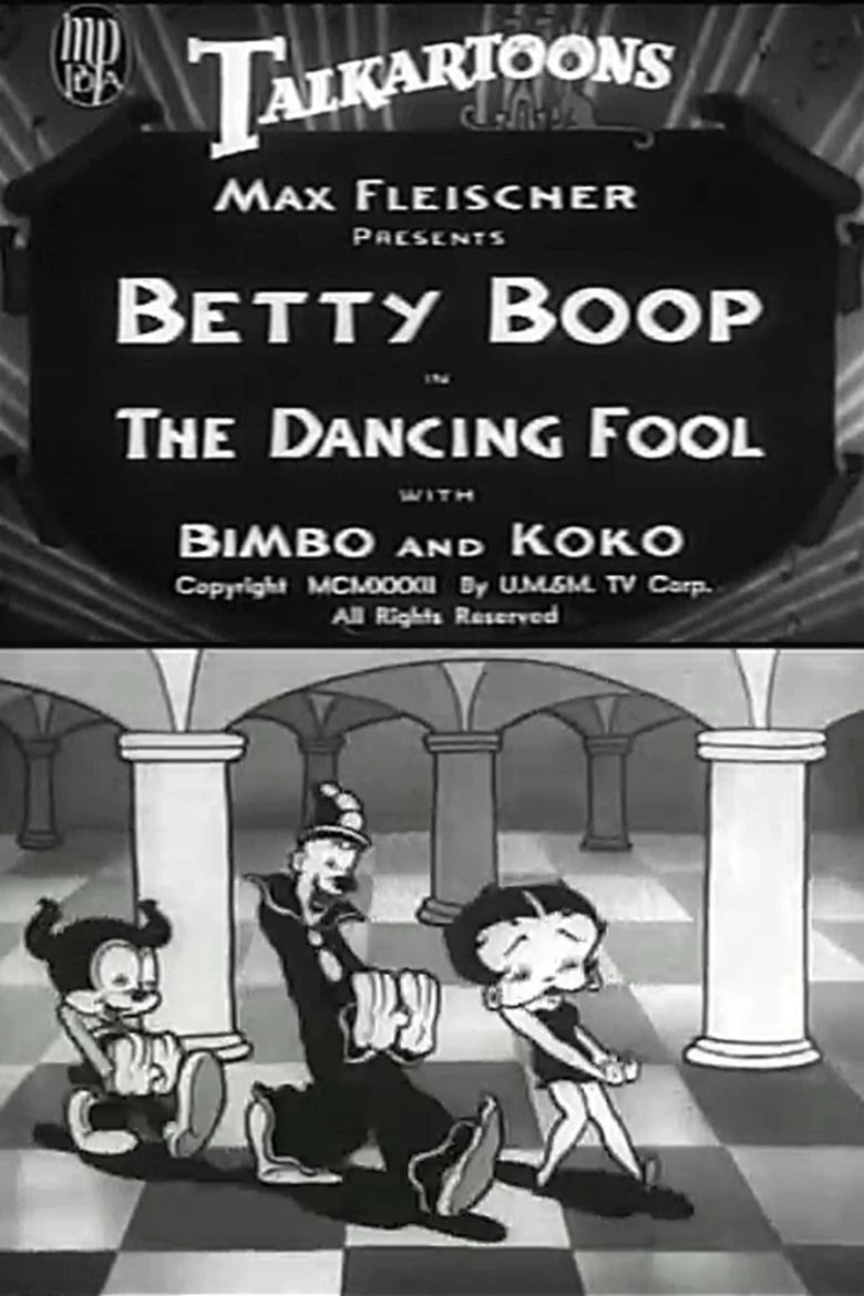 The Dancing Fool movie poster