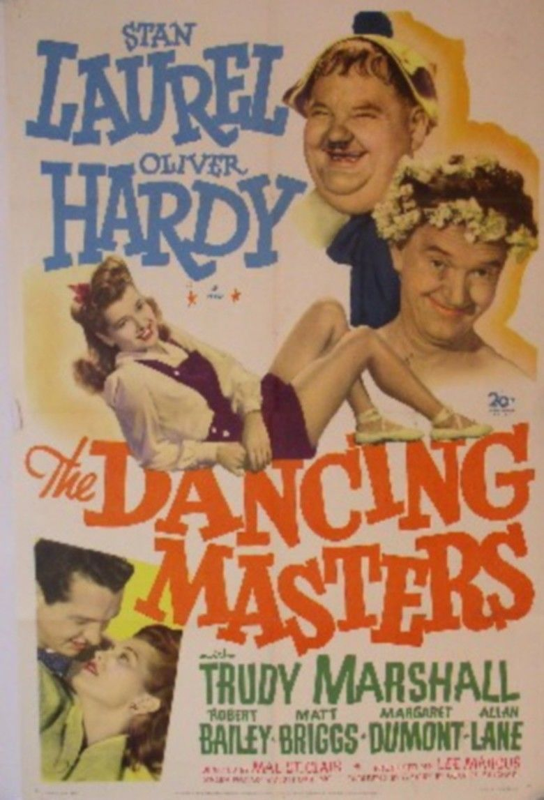 The Dancing Masters movie poster
