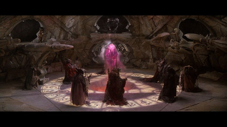 The Dark Crystal movie scenes