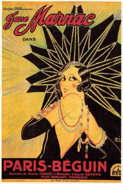 The Darling of Paris (1931 film) movie poster