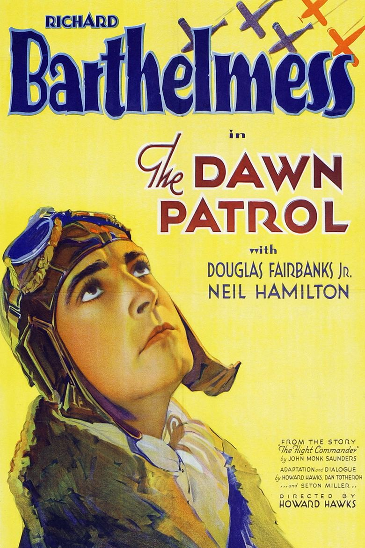 The Dawn Patrol (1930 film) movie poster