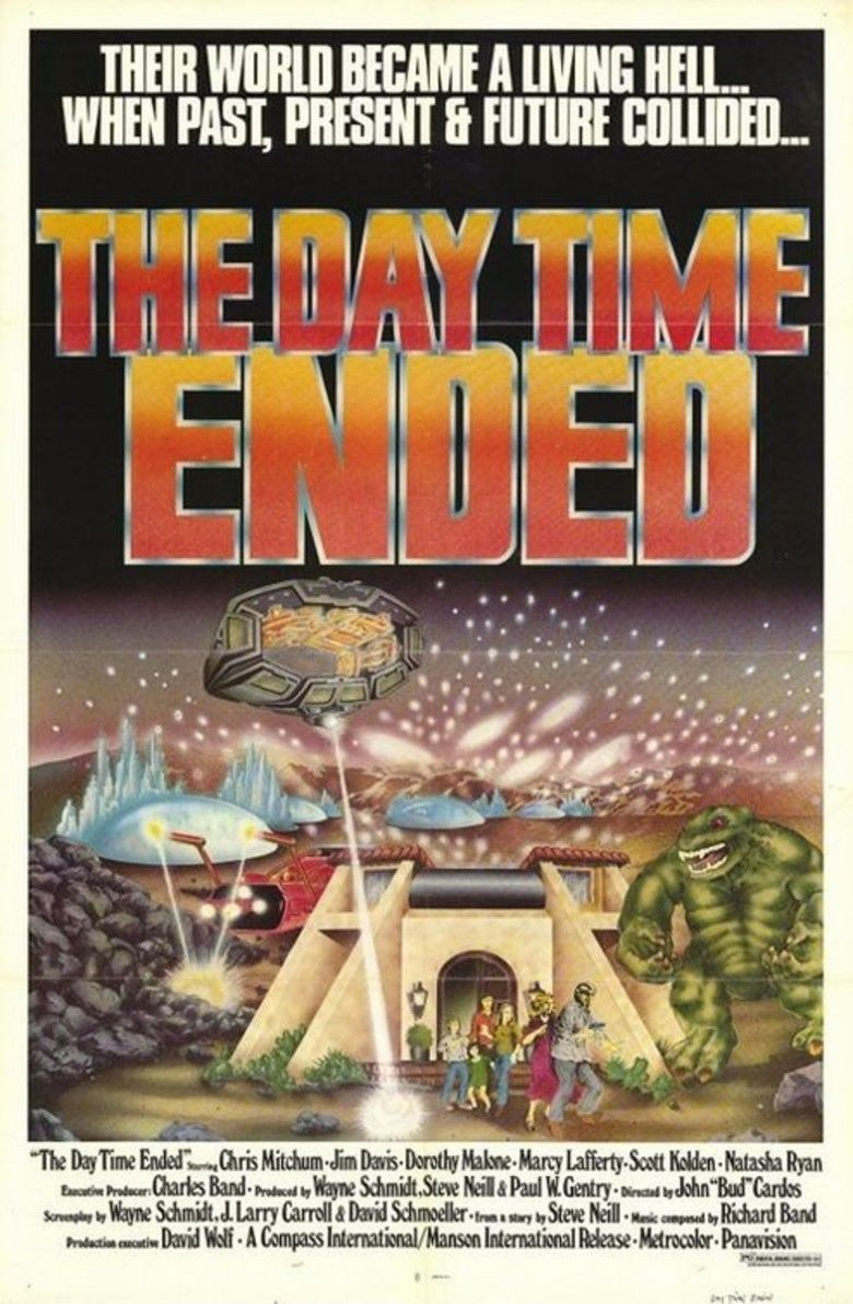 The Day Time Ended movie poster