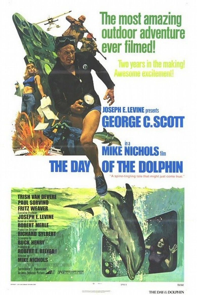 The Day of the Dolphin movie poster