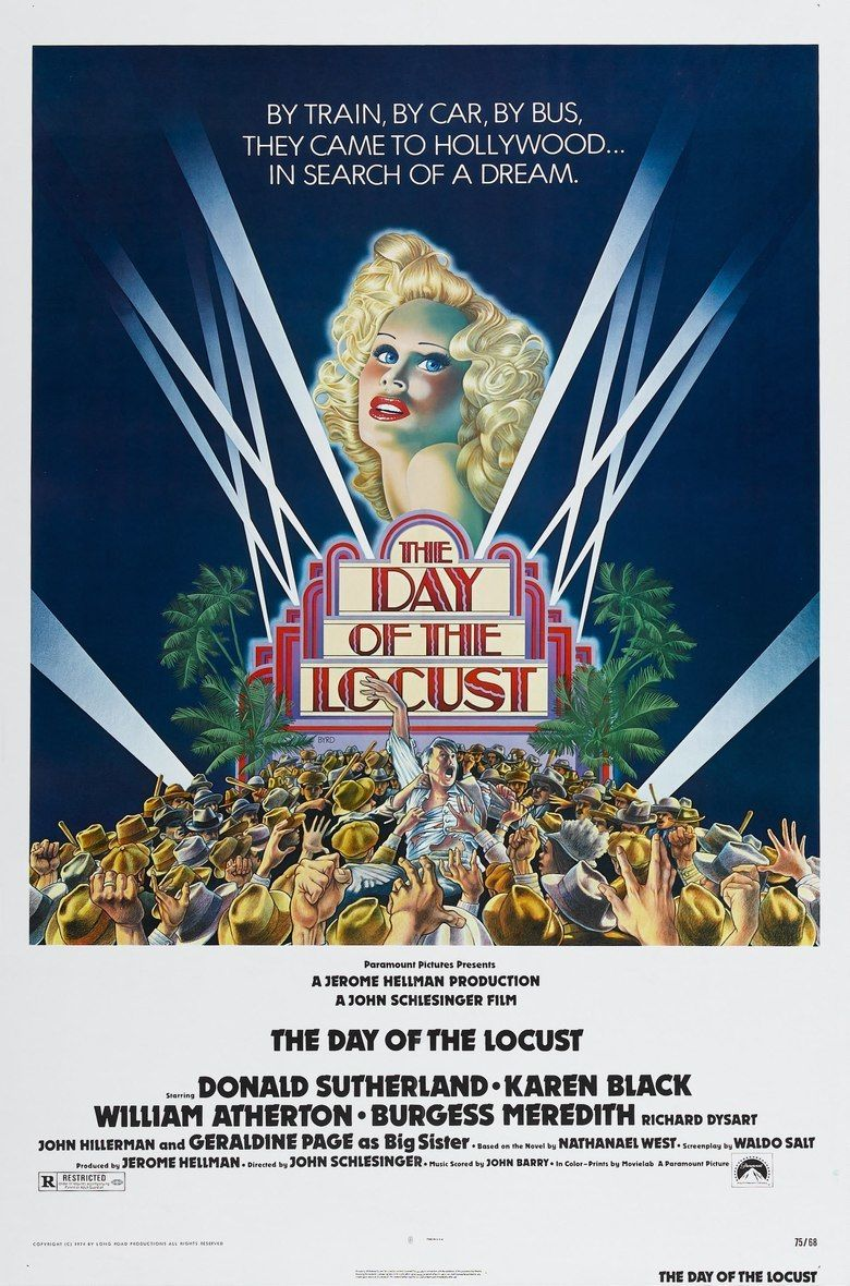 The Day of the Locust (film) movie poster