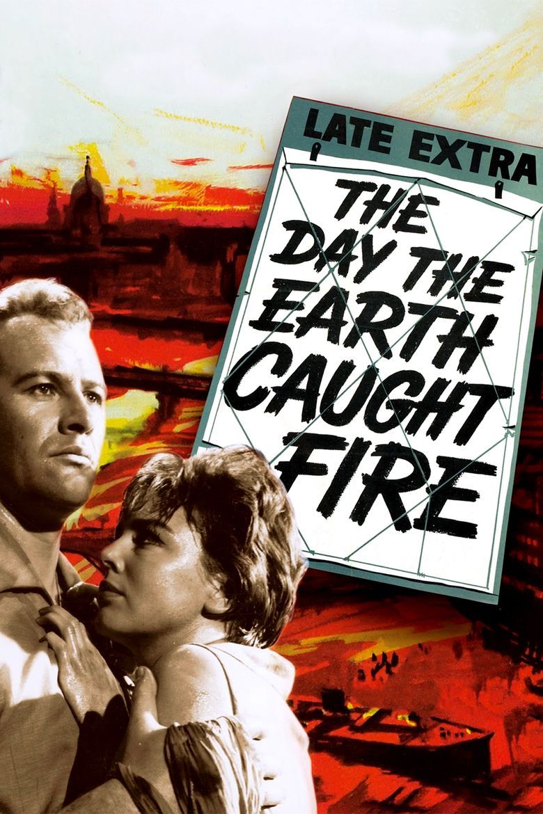 The Day the Earth Caught Fire movie poster