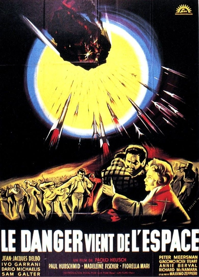 The Day the Sky Exploded movie poster