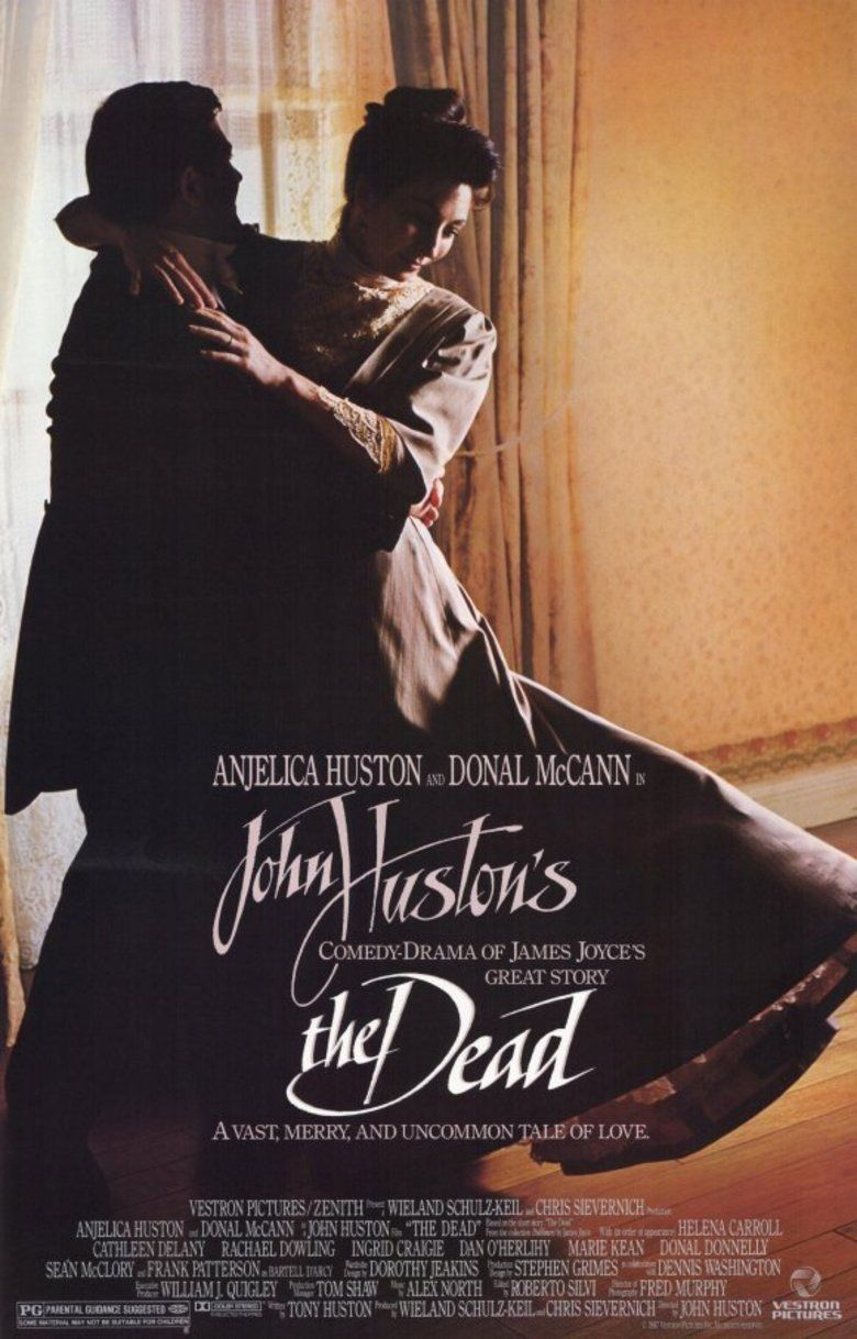 The Dead (1987 film) movie poster