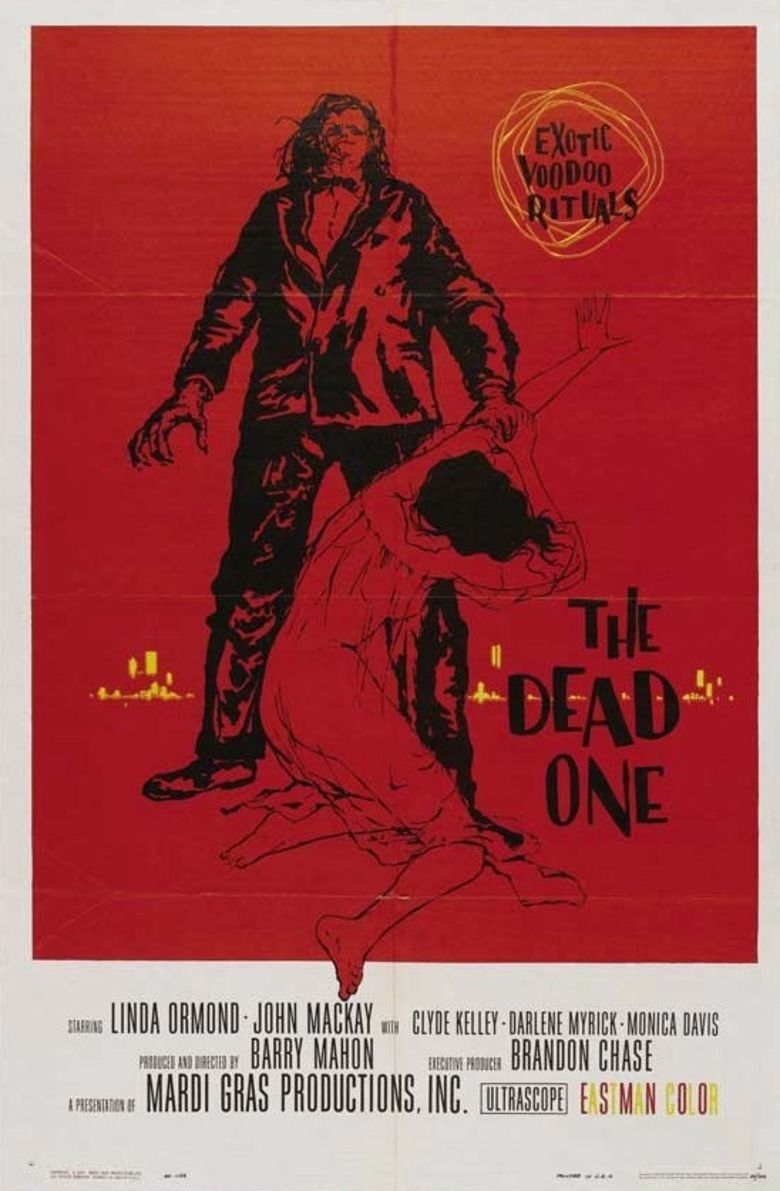 The Dead One (1961 film) movie poster