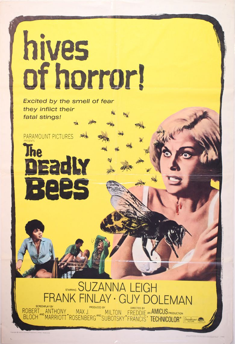 The Deadly Bees movie poster