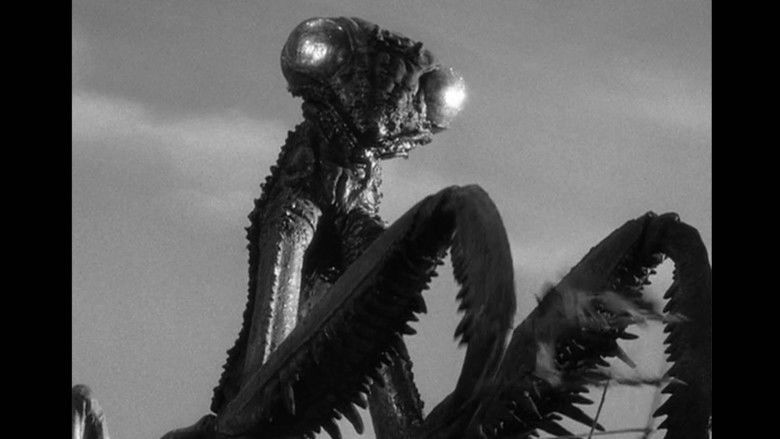 The Deadly Mantis movie scenes