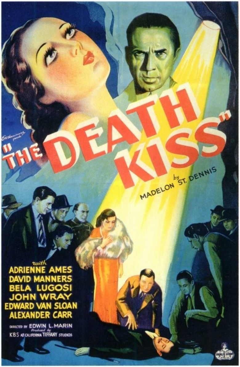The Death Kiss movie poster