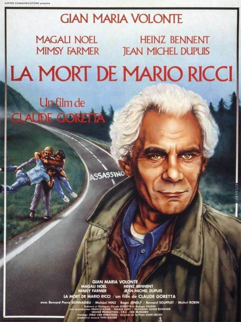 The Death of Mario Ricci movie poster