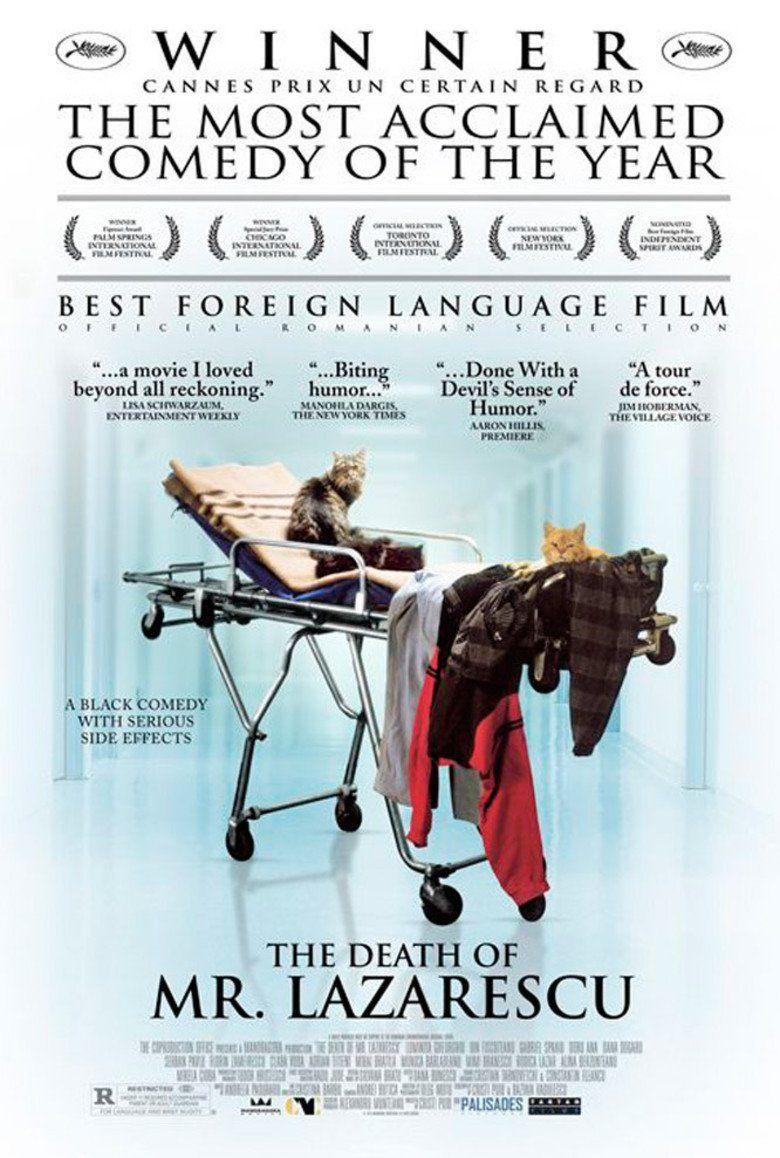 The Death of Mr Lazarescu movie poster