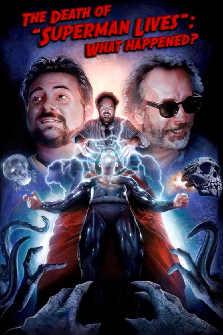 The Death of Superman Lives: What Happened movie poster