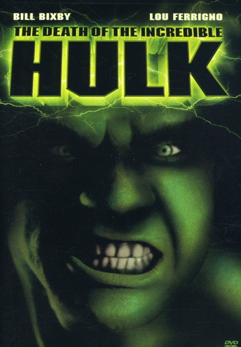 The Death of the Incredible Hulk movie poster
