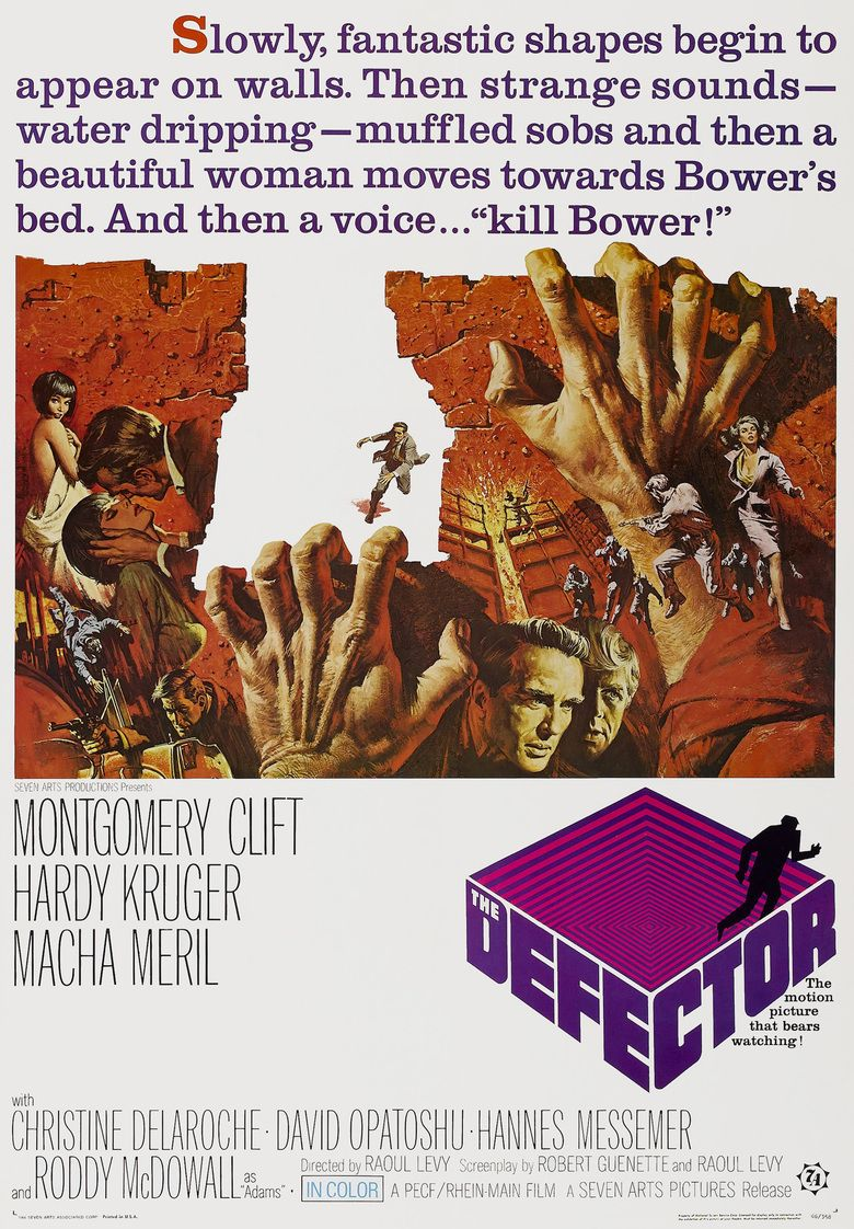 The Defector (film) movie poster