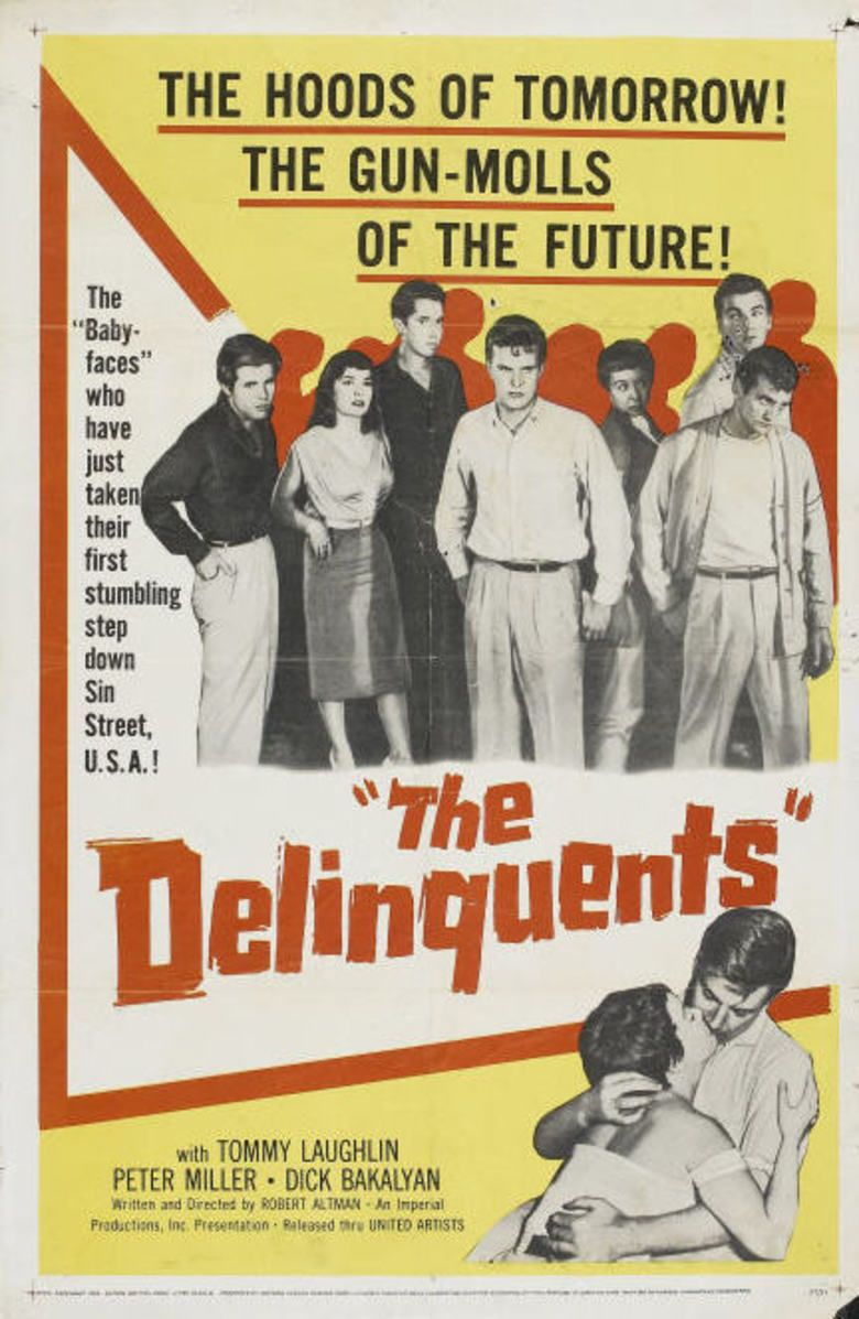 The Delinquents (1957 film) movie poster