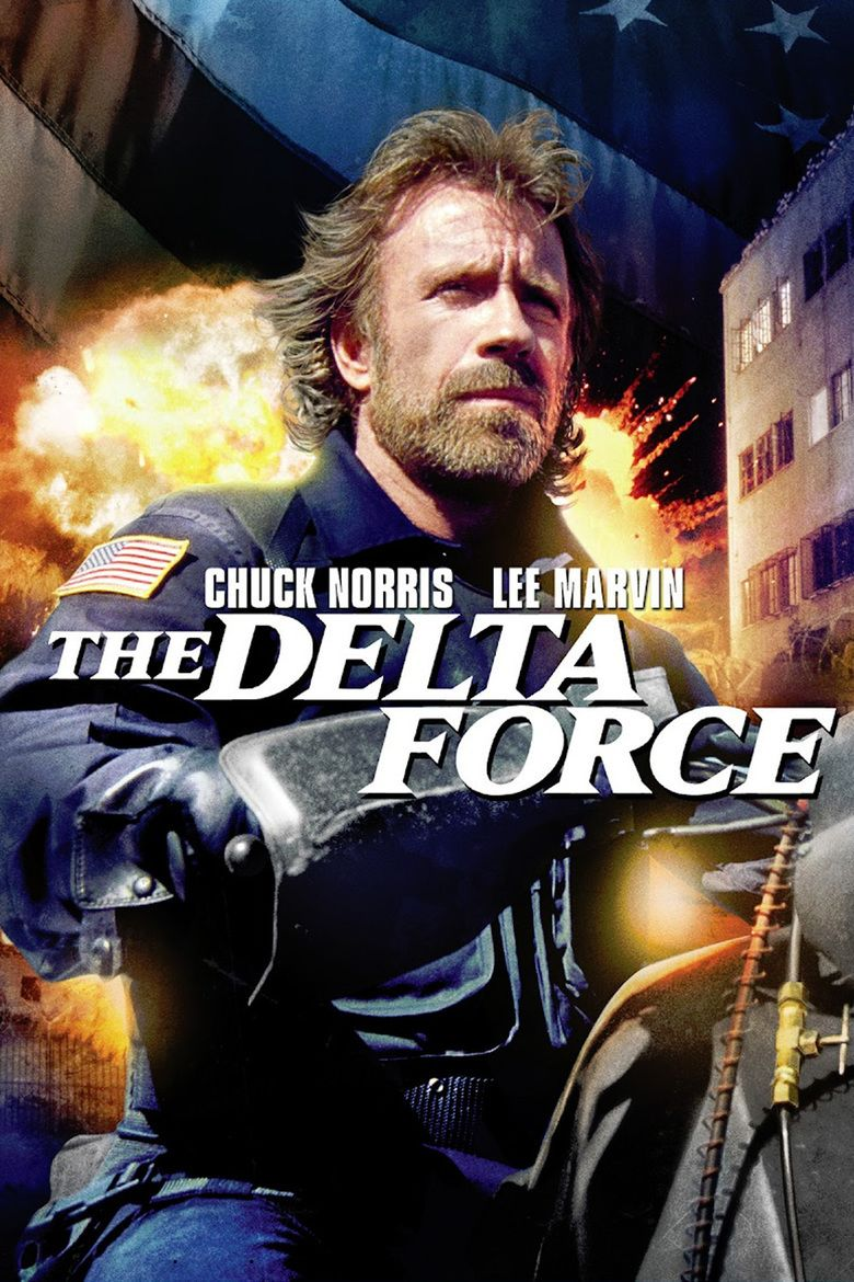 The Delta Force movie poster