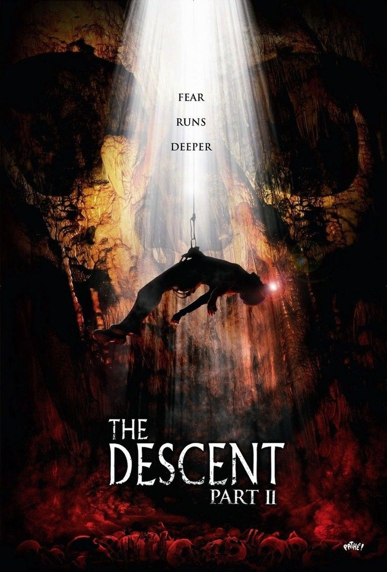 The Descent Part 2 movie poster