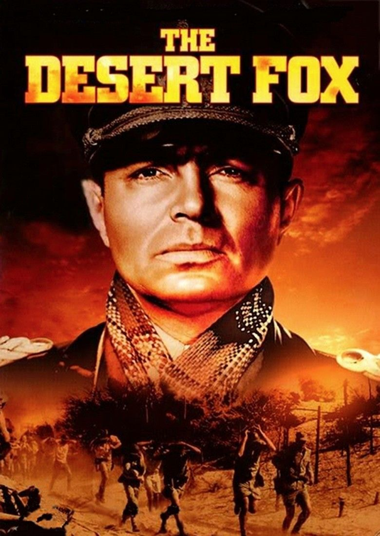 The Desert Fox: The Story of Rommel movie poster