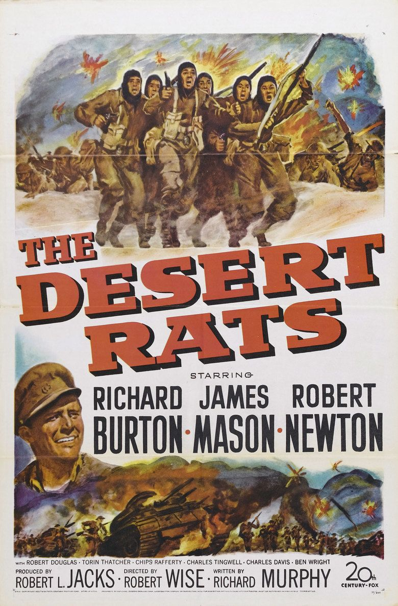 The Desert Rats (film) movie poster