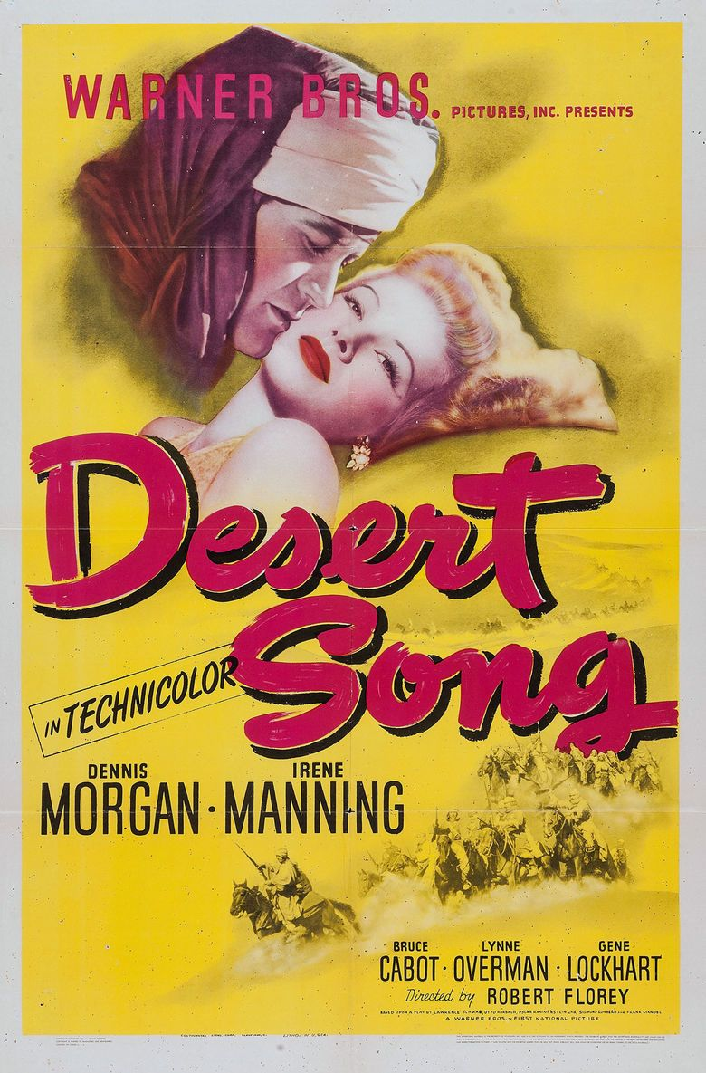 The Desert Song (1943 film) movie poster