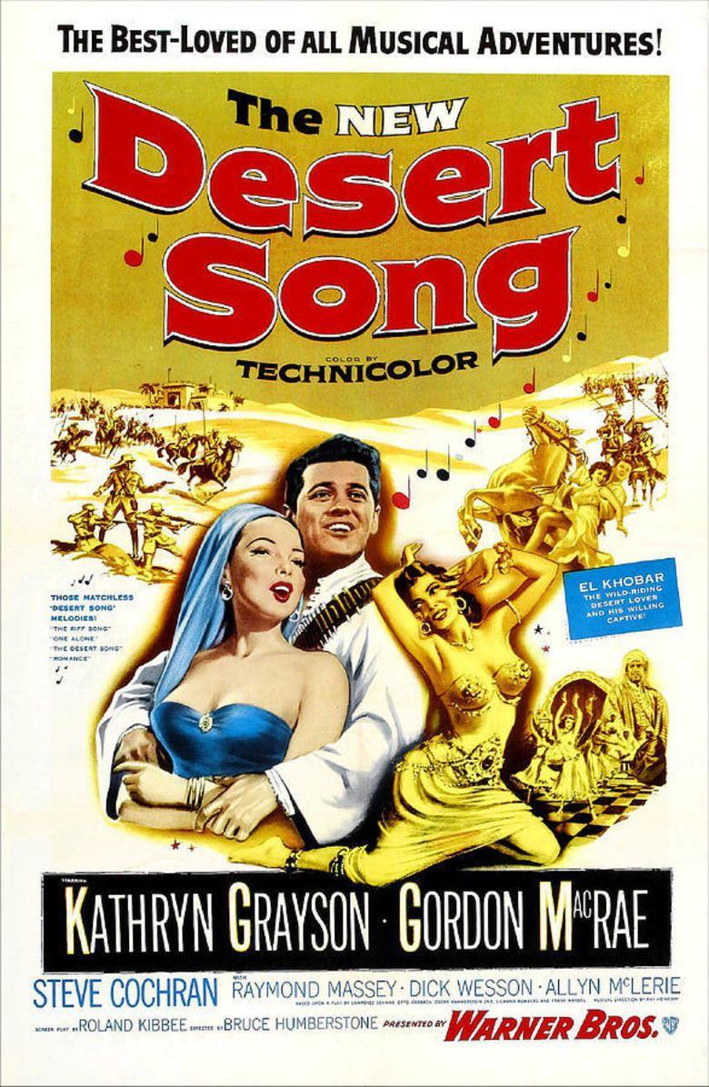 The Desert Song (1953 film) movie poster