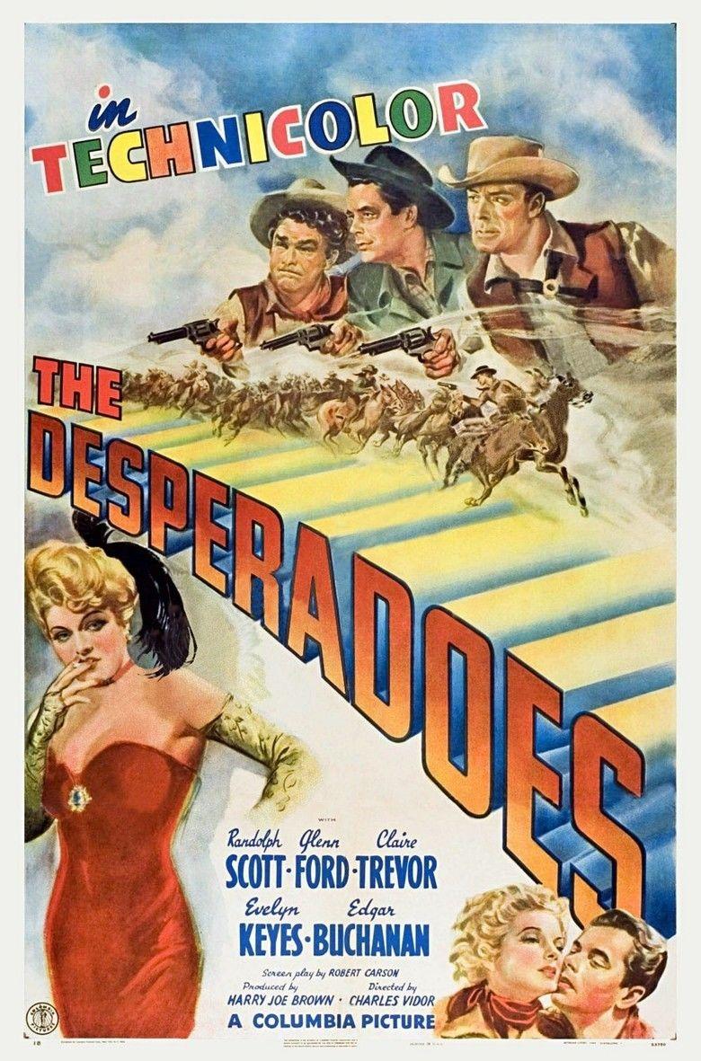 The Desperadoes movie poster