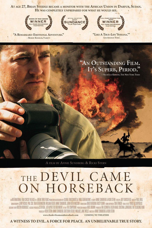 The Devil Came on Horseback movie poster
