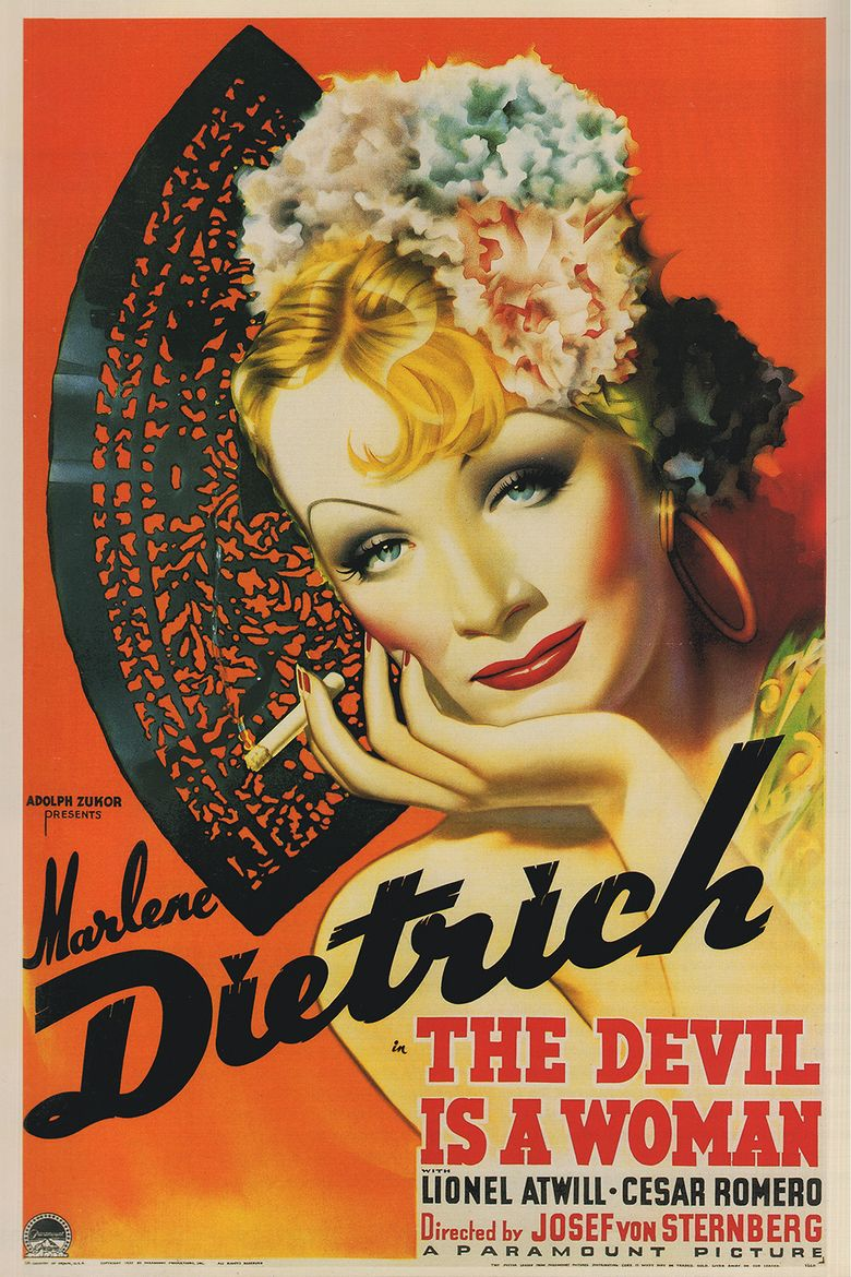 The Devil Is a Woman (1935 film) movie poster