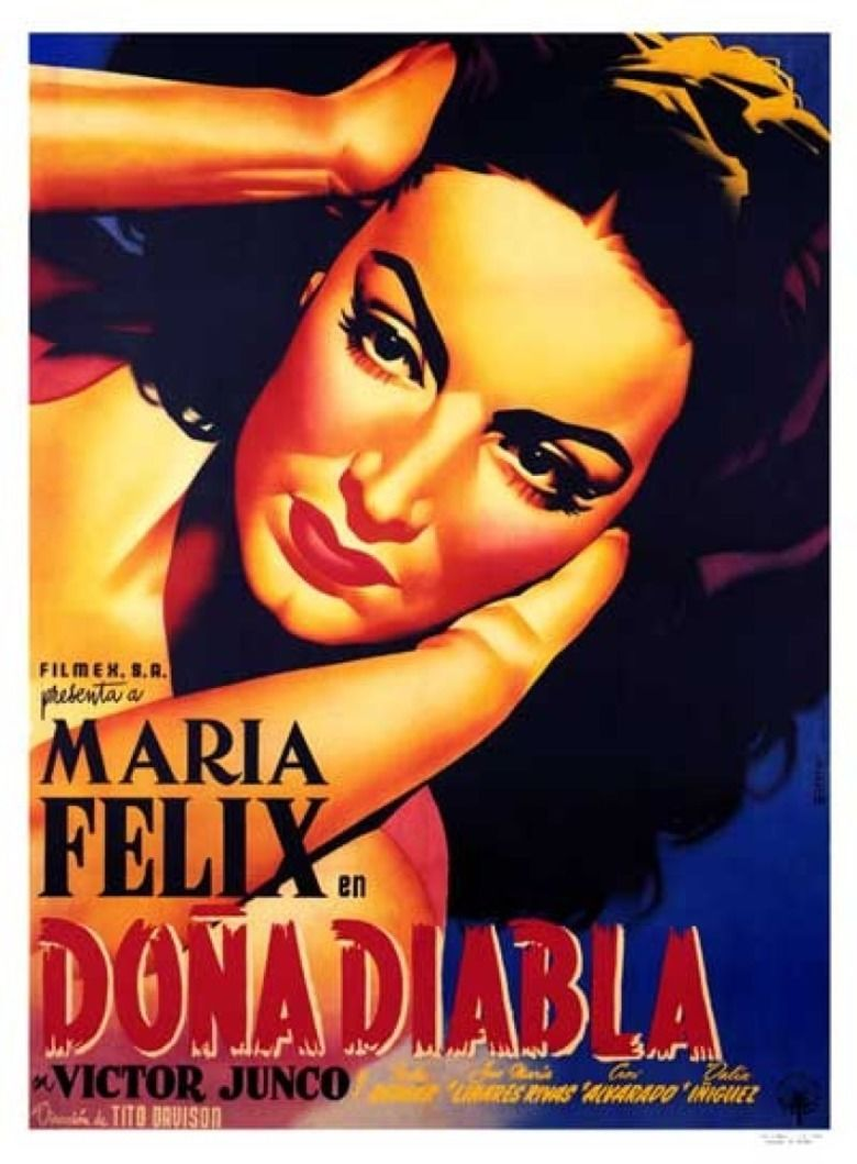 The Devil Is a Woman (1950 film) movie poster