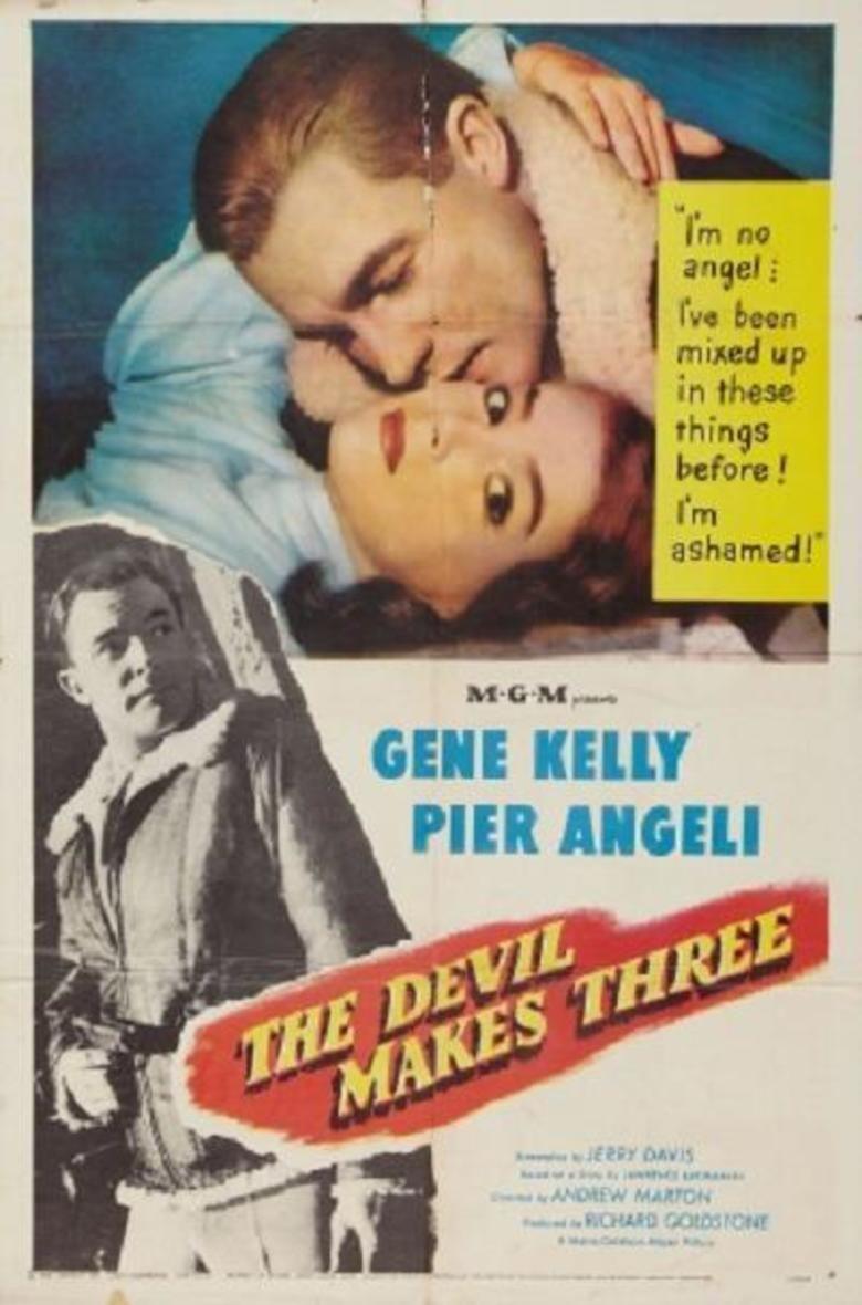 The Devil Makes Three (film) movie poster