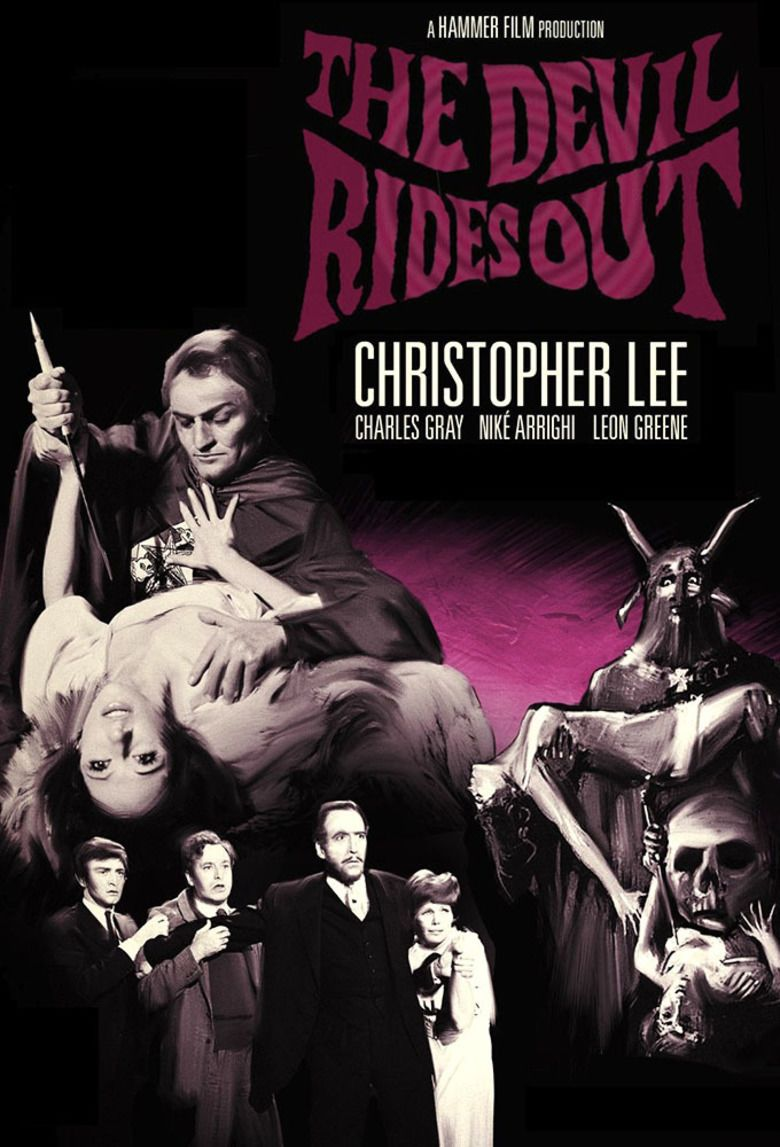The Devil Rides Out (film) movie poster