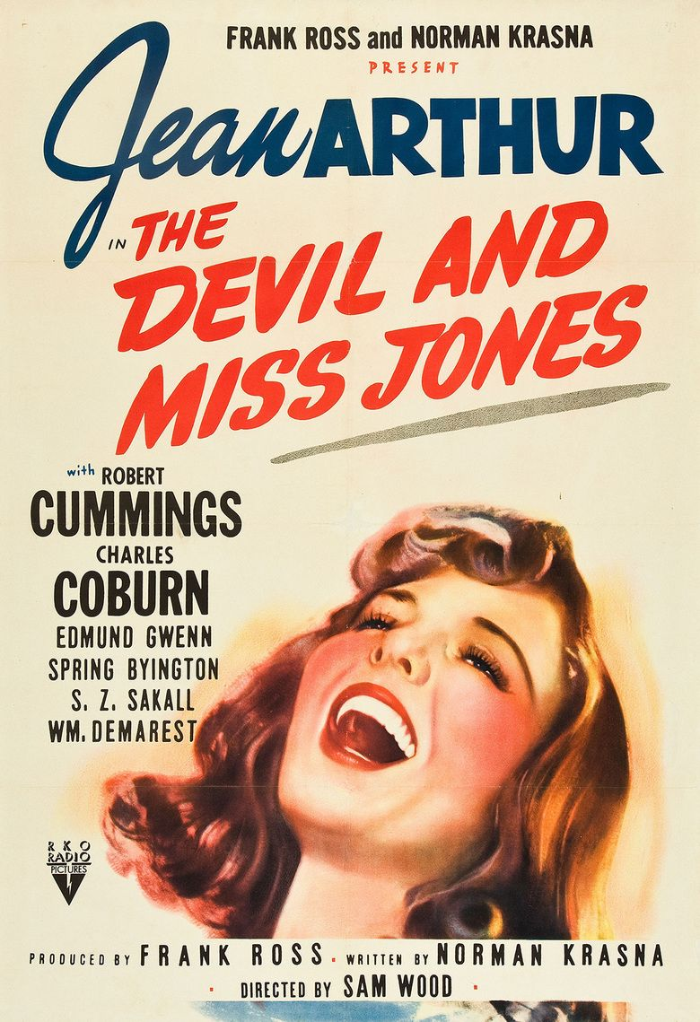 The Devil and Miss Jones movie poster
