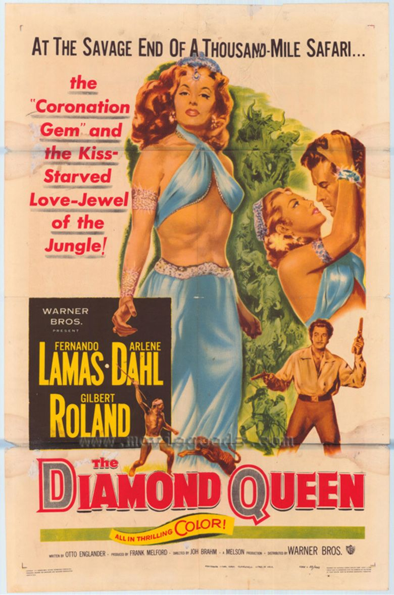 The Diamond Queen (1953 film) movie poster