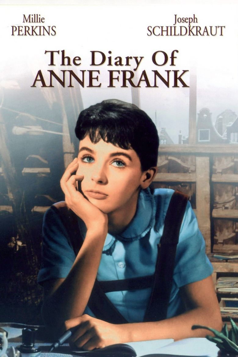 The Diary of Anne Frank (1959 film) movie poster