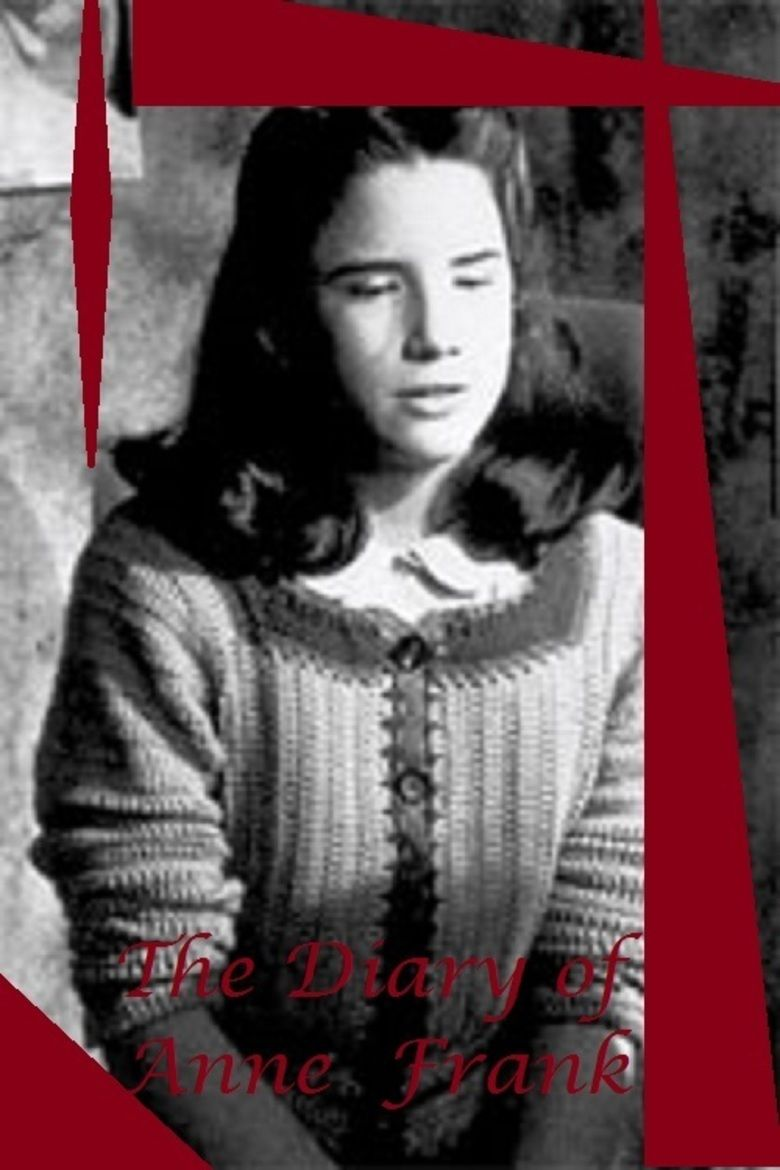 The Diary of Anne Frank (1980 film) movie poster