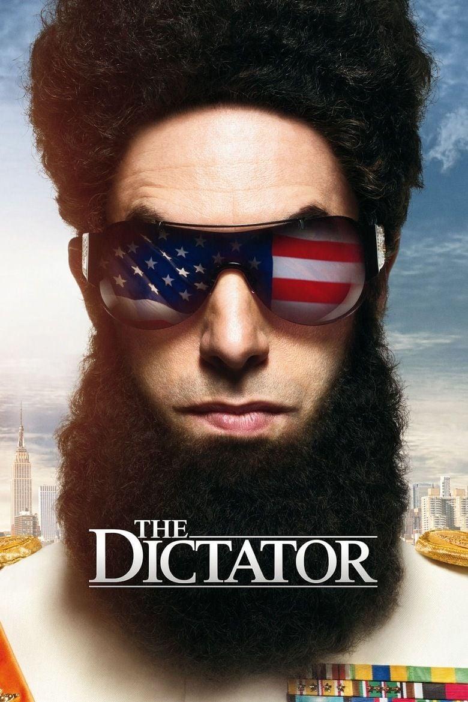 The Dictator (2012 film) movie poster