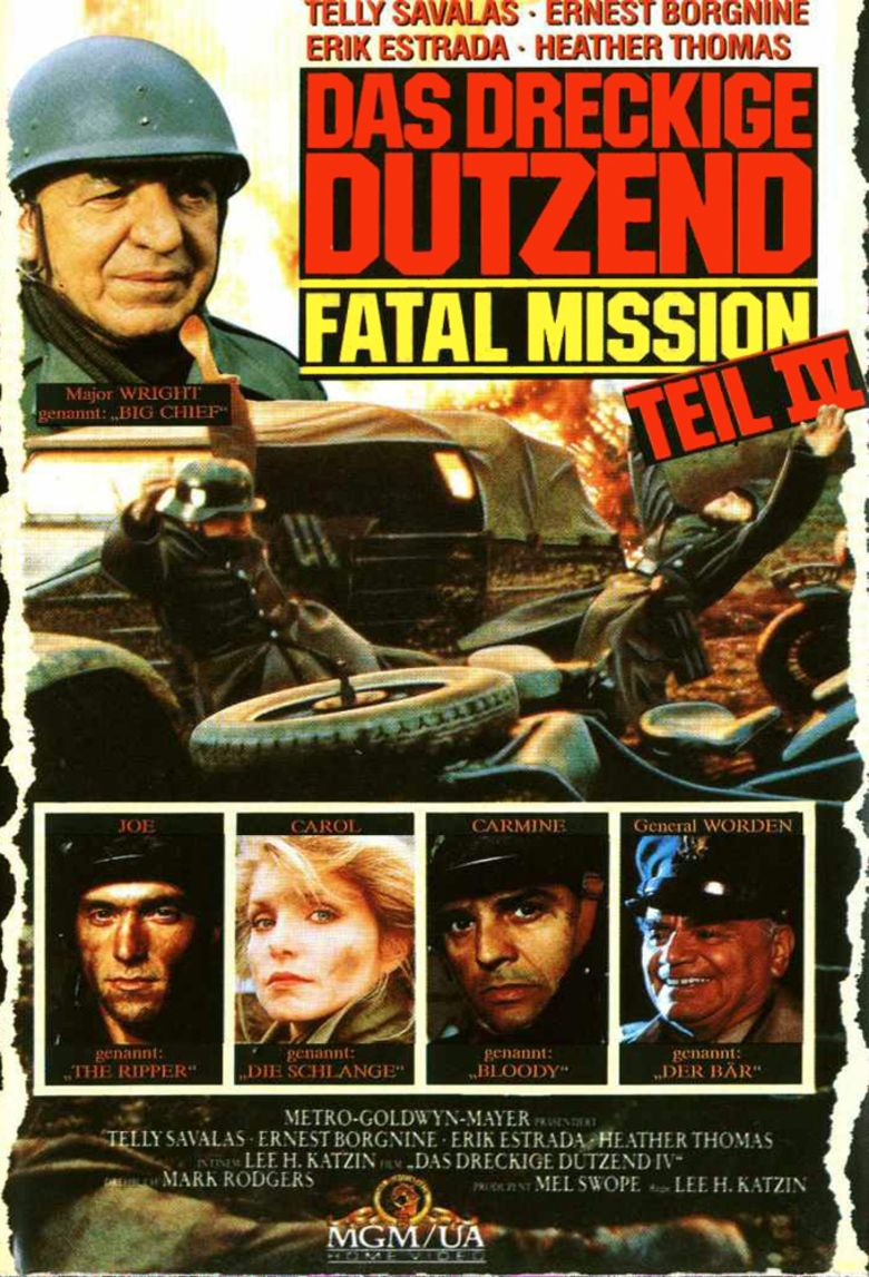 The Dirty Dozen: The Fatal Mission movie poster