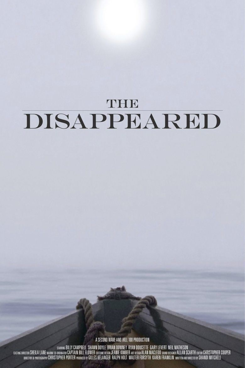 The Disappeared (2012 film) movie poster