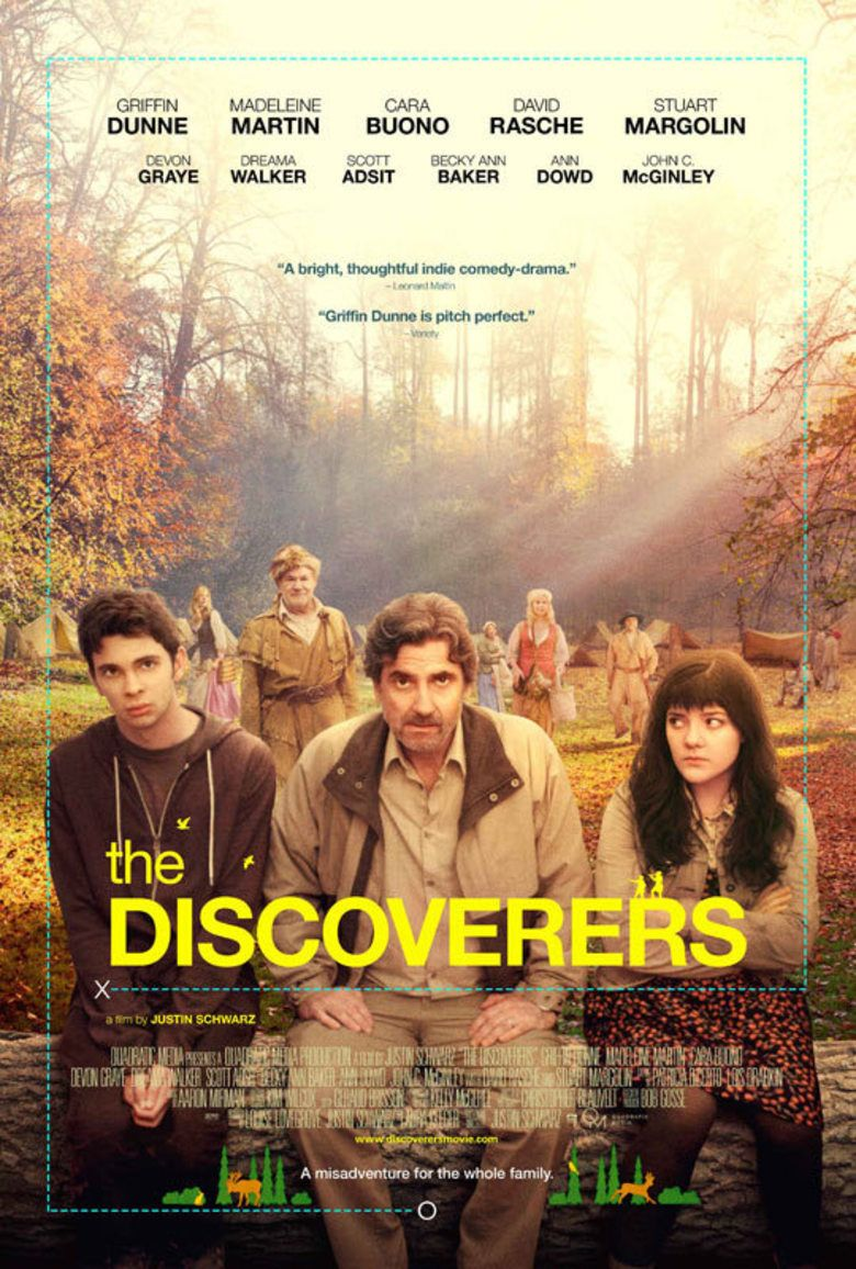 The Discoverers (film) movie poster