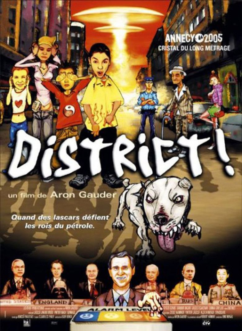 The District! movie poster