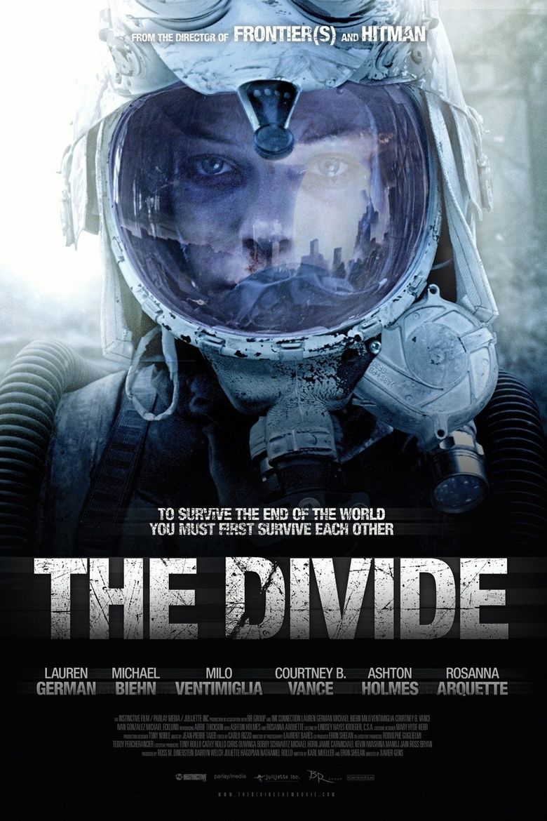 The Divide (film) movie poster