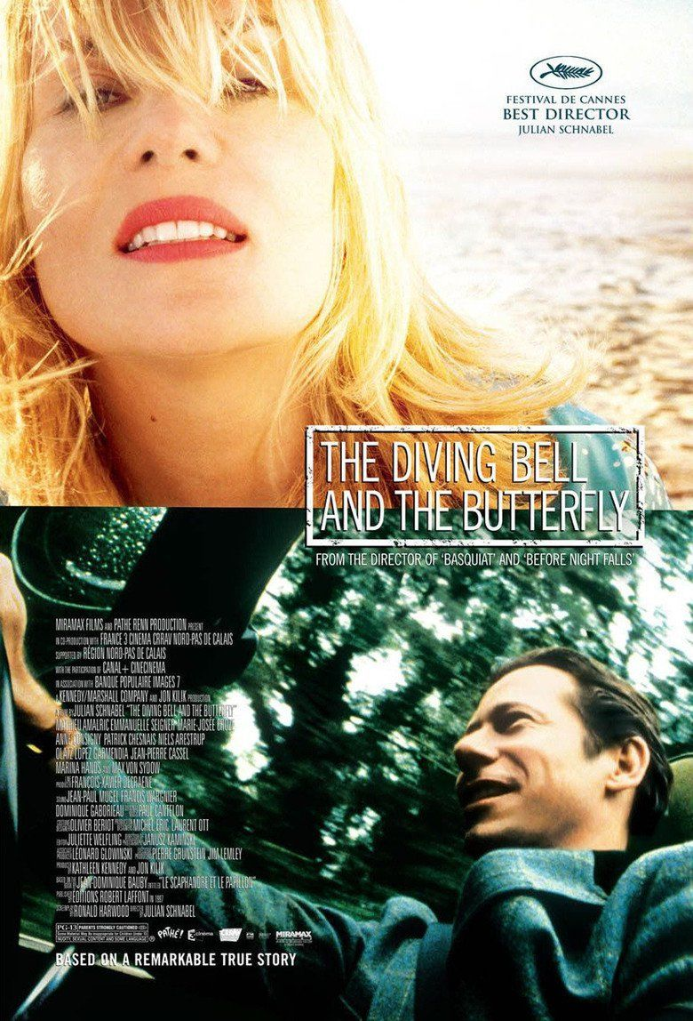 The Diving Bell and the Butterfly (film) movie poster